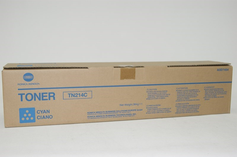 Konica Minolta TN - 214 Cyan Toner Cartridge