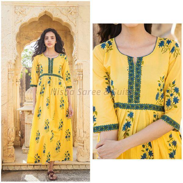 Jaipuri Cotton Printed Kurti 02