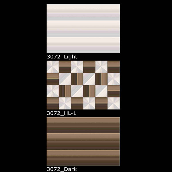 3072-Light, HL-1, Dark
