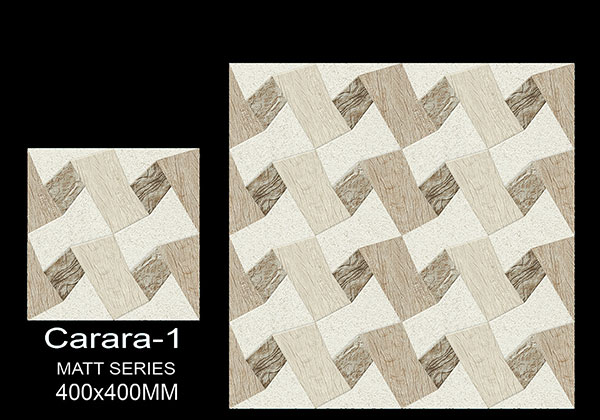Carara-1 - 40x40 cm Ceramic Floor Tiles