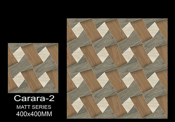 Carara-2 - 40x40 cm Ceramic Floor Tiles