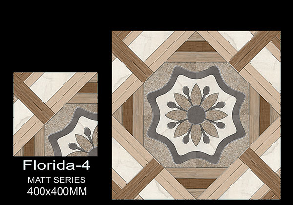 Florida-4  - 40x40 cm Ceramic Floor Tiles