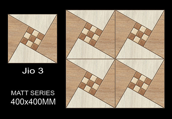 Jio Matt Series  - 40x40 cm Ceramic Floor Tiles