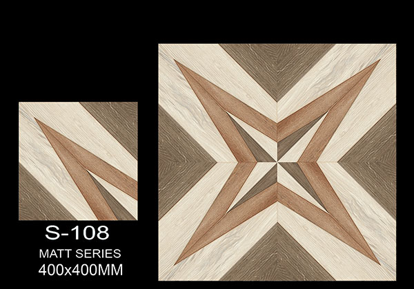 S-108 - 40x40 cm Ceramic Floor Tiles