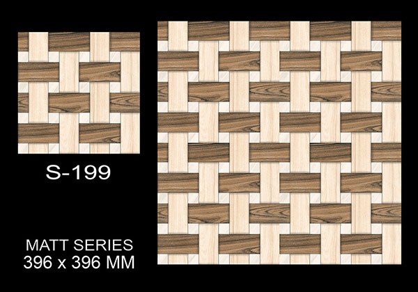 S-199- 40x40 cm Ceramic Floor Tiles