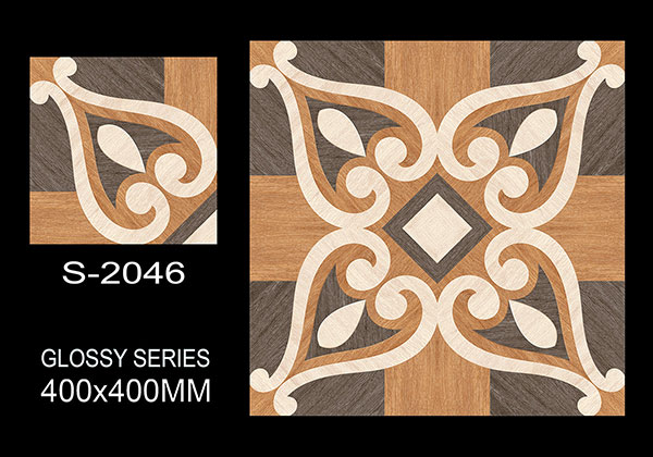 S-2046- 40x40 cm Ceramic Floor Tiles