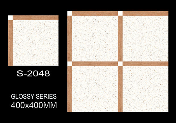 S-2048- 40x40 cm Ceramic Floor Tiles
