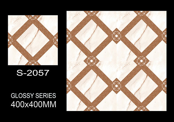 S-2057- 40x40 cm Ceramic Floor Tiles