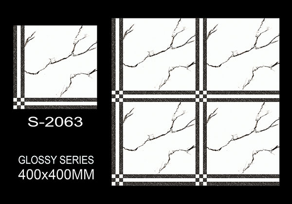 S-2063- 40x40 cm Ceramic Floor Tiles