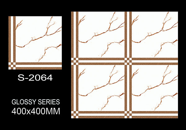 S-2064- 40x40 cm Ceramic Floor Tiles