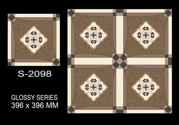 S-2098- 40x40 cm Ceramic Floor Tiles