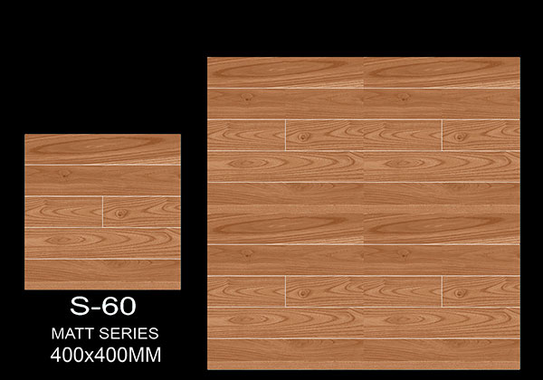 S-60 - 40x40 cm Ceramic Floor Tiles