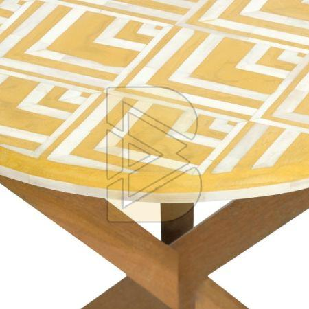 Bone Inlay Quercus Coffee Table 02