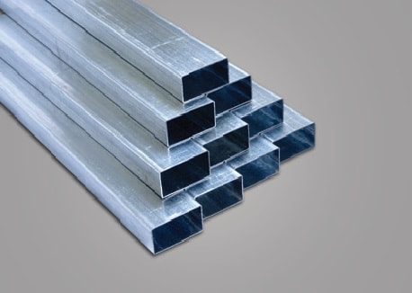 Galvanized Steel Rectangular Pipes