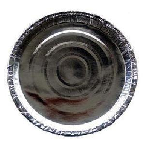 Disposable Silver Paper Plates