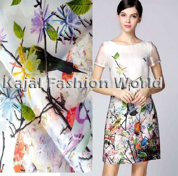 Rayon Digital Print Fabric 02