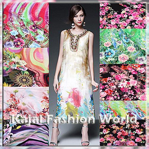 Viscose Georgette Fabric 03