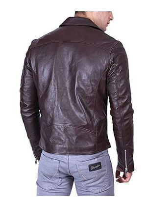 Mens Leather Moto Jacket 02