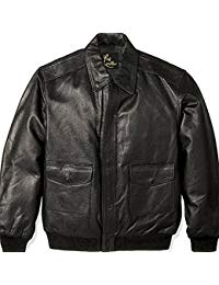 Mens Leather Flight Jacket 01