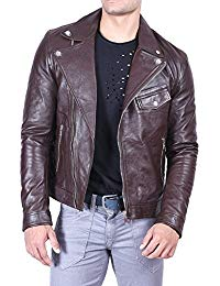 Mens Leather Moto Jacket 01