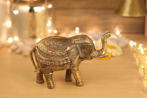 Brass Animal Statue