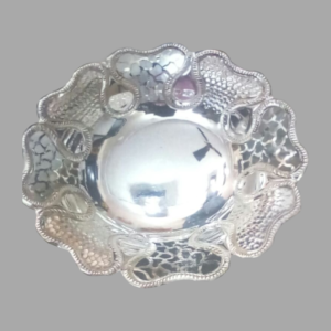 Silver Dish Plate 01