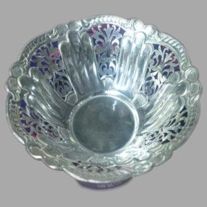 Silver Dish Plate  02