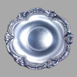 Silver Dish Plate 04