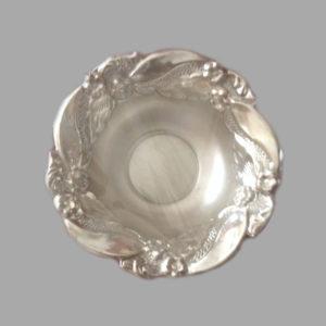 Silver Dish Plate 06