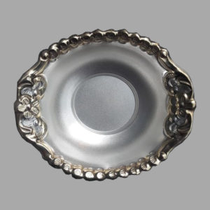 Silver Dish Plate 07