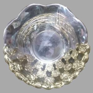 Silver Dish Plate 08