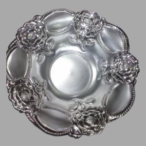 Silver Dish Plate 10