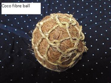 coco fibre net ball