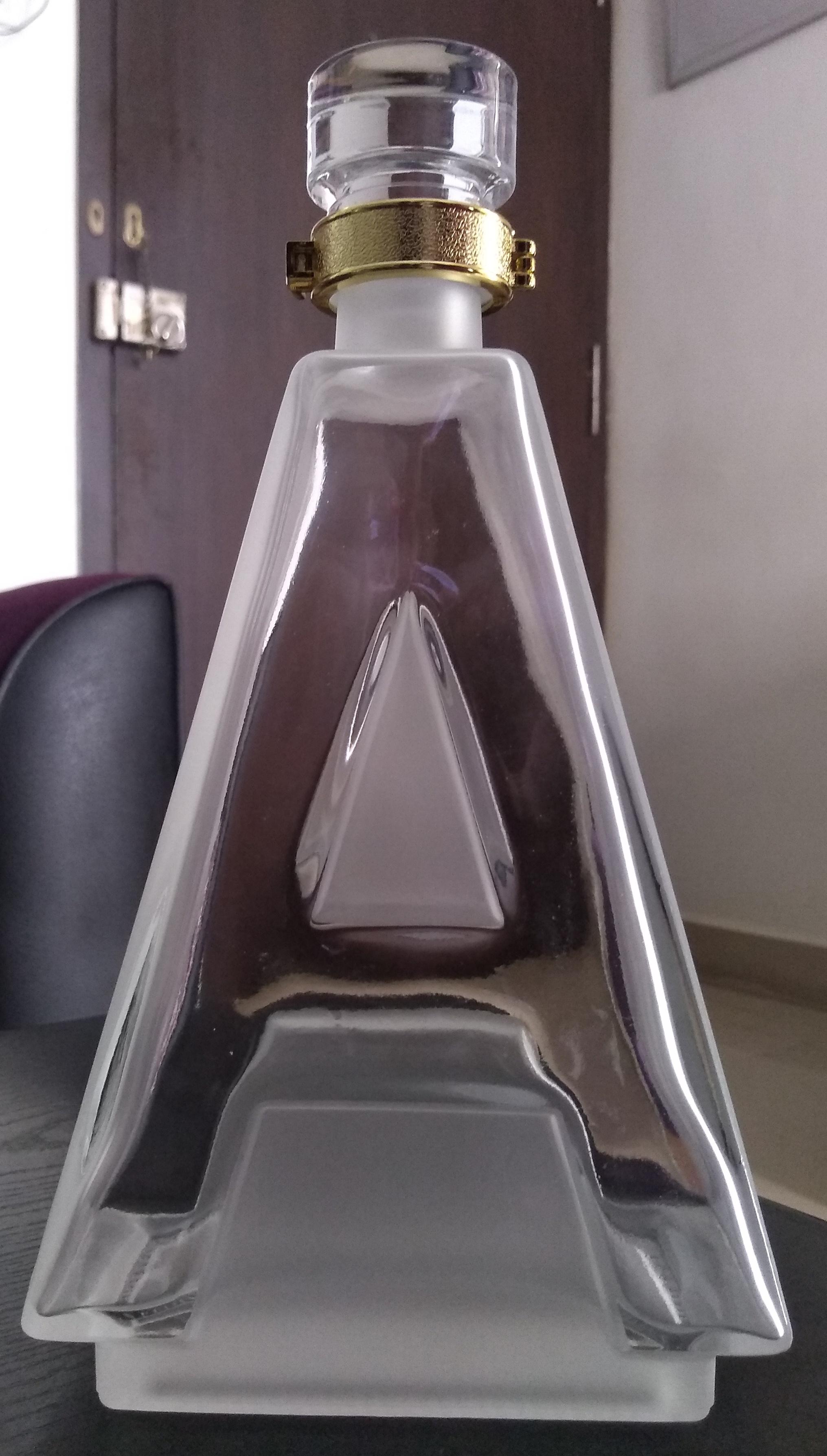 Alphabet bottle series