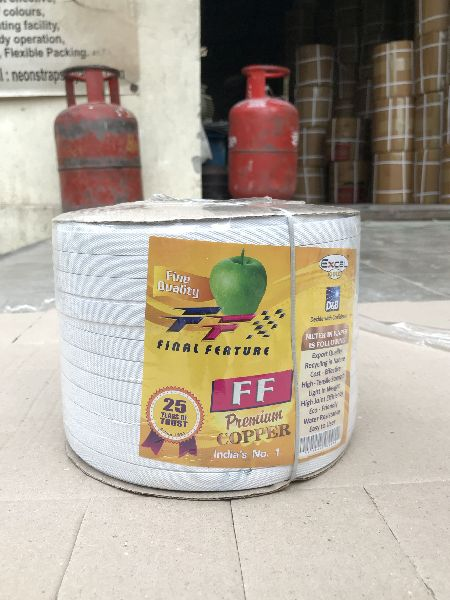 Polypropylene White Strapping Rolls