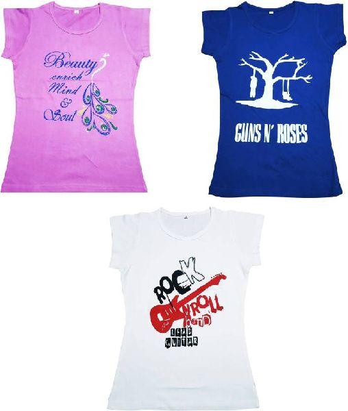 Girls Half Sleeve T-Shirts 01