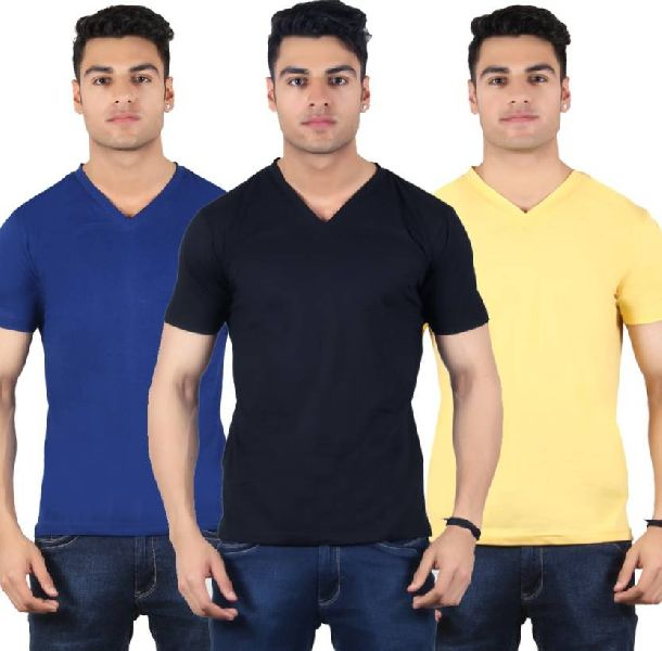 Mens V Neck T-Shirts 01