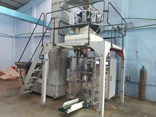 Automatic Collar Type Form Fill & Seal Machine With Weigh Filler