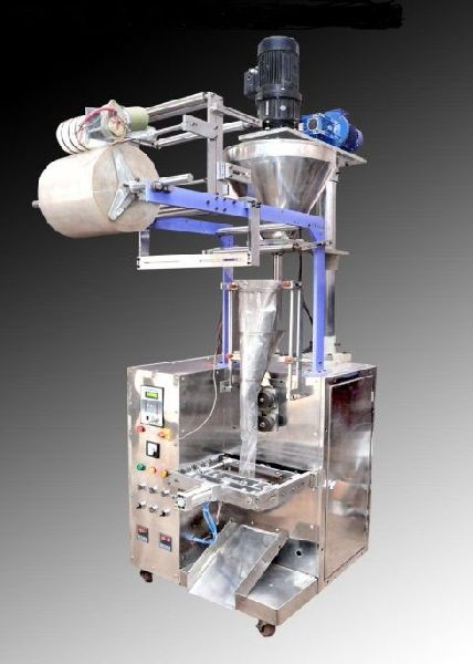 Automatic Pneumatic Intermittent Form Fill & Seal Machine With Auger Filler