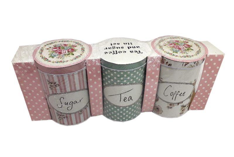 Tea Sugar Pot Set