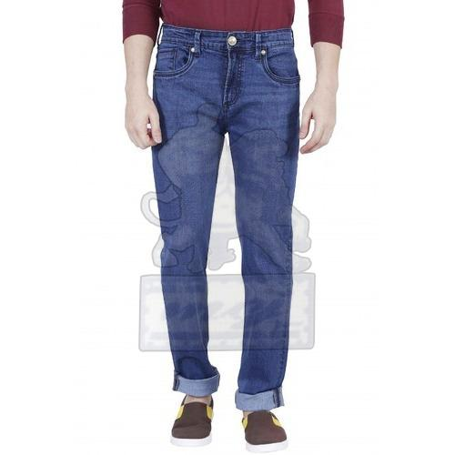 Mens Denim Regular Fit Jeans 02
