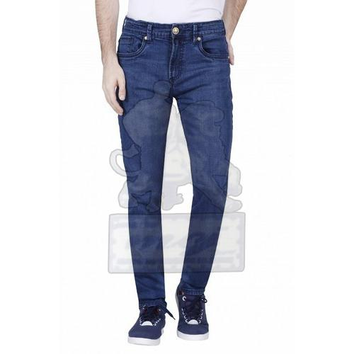 Mens Cotton Narrow Fit Jeans 01