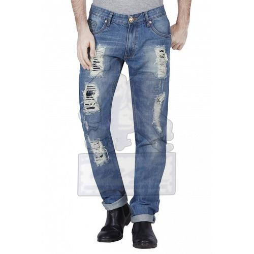 Mens Stylish Ripped Jeans 03