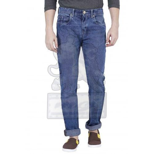 Mens Denim Regular Fit Jeans 04