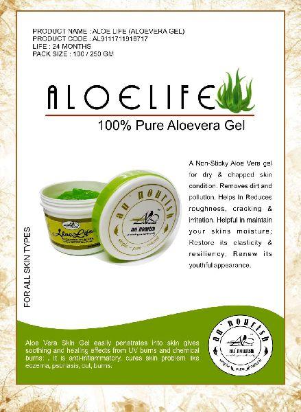 100% Pure Aloevera Gel