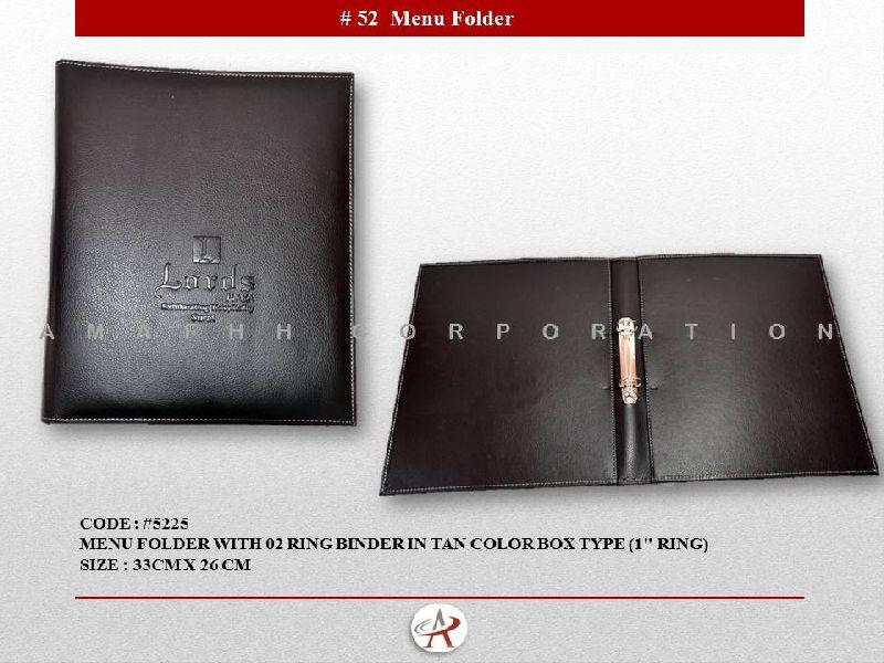 Ring Binder Menu Folder