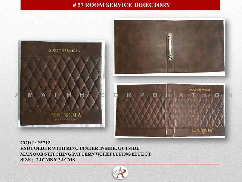 Hotel Room Folder