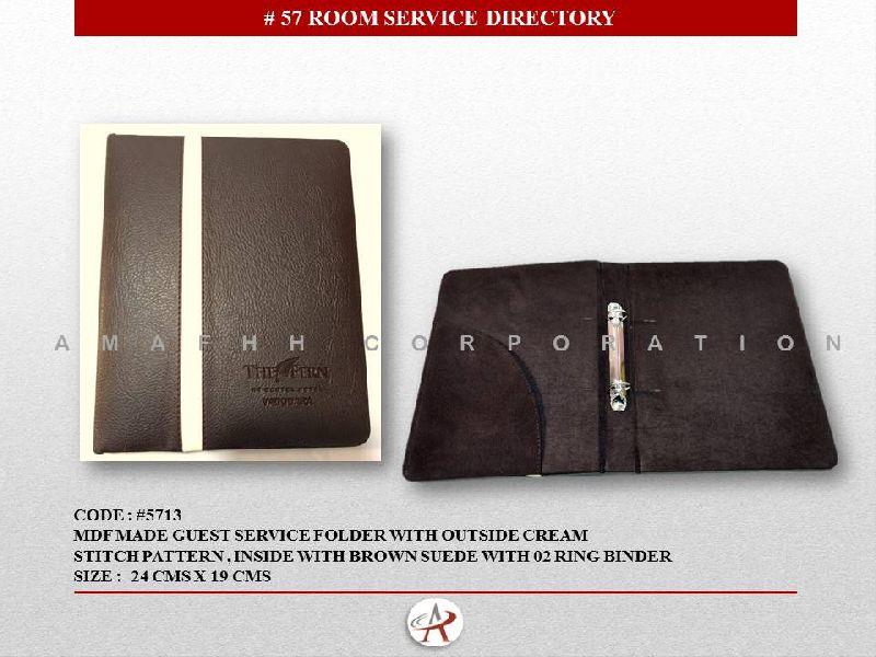 Guest Service Folder