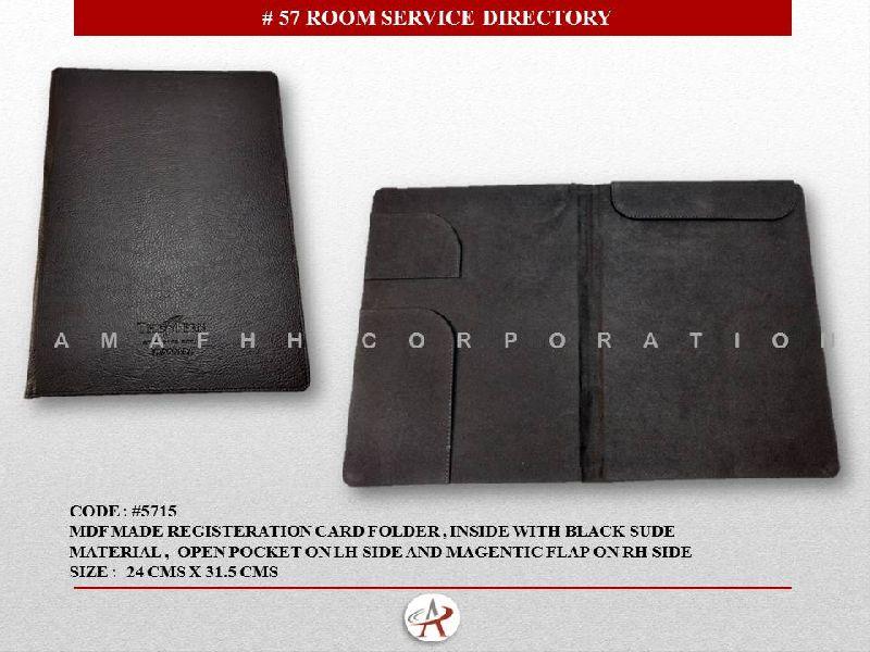 Hotel Guest Service Folder