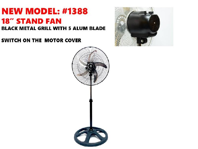 18 Inches Pedestal Fan
